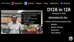 D128 in 128: Communication Tools