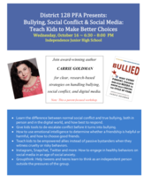 Bullying, Social Conflict and Social Media