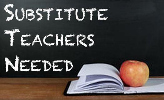 Substitute Teachers Wanted