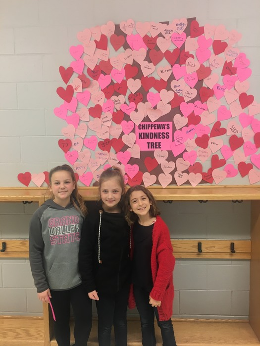 The Chippewa Students continue to grow kindness.