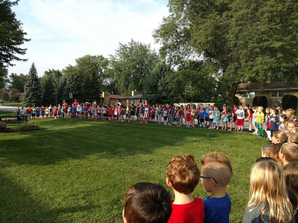 Patriot Day at Chippewa School, September 11, 2019